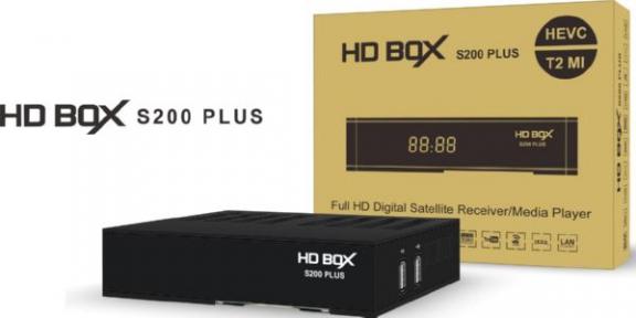 Спутниковый ресивер HDBOX S200 Plus