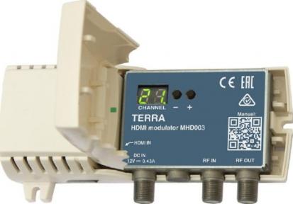 Модулятор DVB-C Terra MHD003 без БП