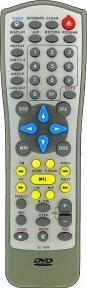 Пульт DVD SG-80M для плеера ROLSEN