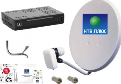 Комплект НТВ+ Opentech OHS-1710V + договор 184 руб.