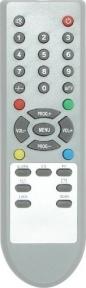 Пульт HDF07A590, HYUNDAI HOF08B311, корпус LG 090,правая нижняя кнопка SCAN для телевизора AKIRA