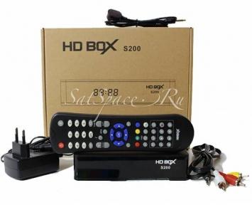 Спутниковый ресивер HDBOX S200