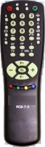 Пульт RC-6-7-2 для телевизора HORIZONT
