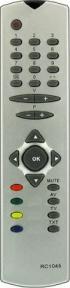 Пульт RC-1045 для телевизора VESTEL