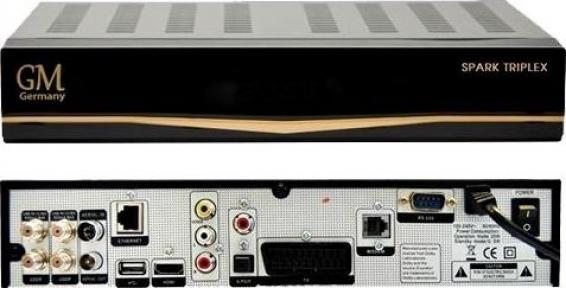 Спутниковый ресивер Golden Media Spark Triplex