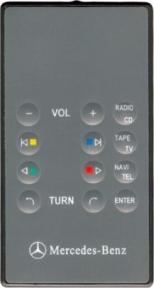 Пульт A220 CAR-TV для автомагнитолы Mercedes-Benz