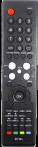 Пульт RC18B для телевизора SUPRA