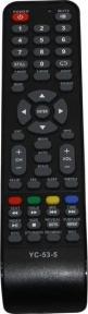 Пульт YC-53-5, H-LED32V21T2, РУБИН YC-CY3 для телевизора HYUNDAI