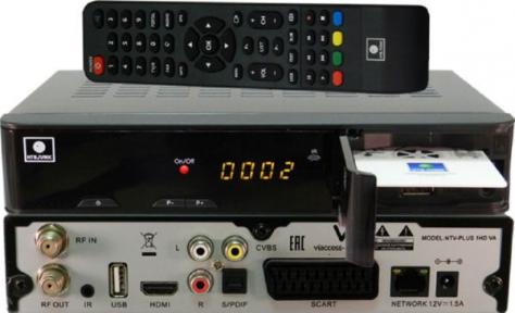 Спутниковый ресивер NTV-PLUS 1HD VA НТВ+ и Договор 184 руб