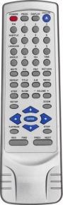 Пульт JX-2008B DVD (ERISSON 1130) для видеотехники GENERAL