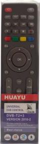 Пульт HUAYU для ресиверов DVB-T2+3 версия 2018-2