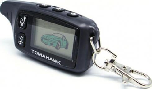 Брелок к автосигнализации LCD Tomahawk TW9030