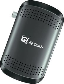 Спутниковый ресивер GI HD Slim 2+ с wifi адаптером