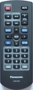 Пульт PANASONIC CAR DVD YEFX999263A оригинальный для видеотехники