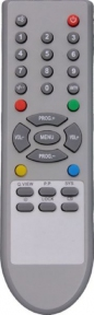 Пульт NEW, корпус как у LG090D, два ряда кнопок ниже джойстика для телевизора AKIRA