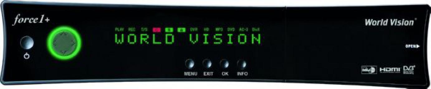 Спутниковый ресивер World Vision Force1+