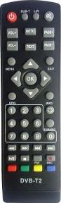 Пульт DVB-T2 Dcolor DC901 для эфирных ресиверов TELANT