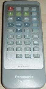 Пульт N2QAHC000007 DVD оригинальный для видеотехники PANASONIC