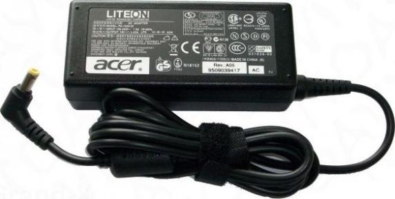 Блок питания для ноутбука ACER 19V 2,1A 5,5x1,7 мм + сетевой кабель