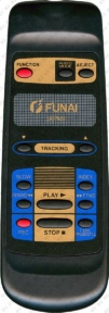 Пульт VIP 3000A MK5(RS2000) VCR оригинальный для видеотехники FUNAI