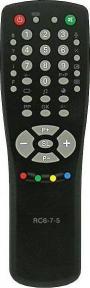 Пульт RC-6-7-5 для телевизора HORIZONT