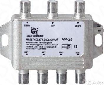 Мультисвитч пассивный GI MP-34