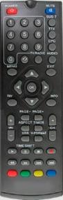 Пульт DVB-T2 T36, T56 для эфирных ресиверов WORLD VISION