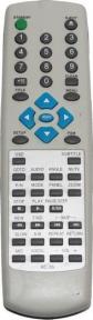 Пульт RC-35 DVD для плеера BBK