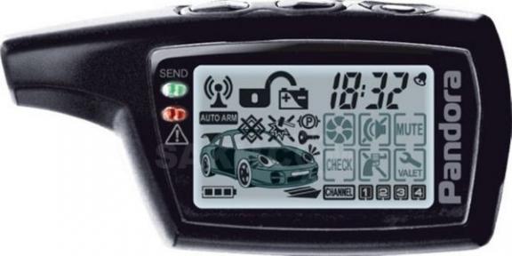 Брелок к автосигнализации LCD Pandora DXL 3000/3100/3170/3210/3300/3500/3700 I-MOD