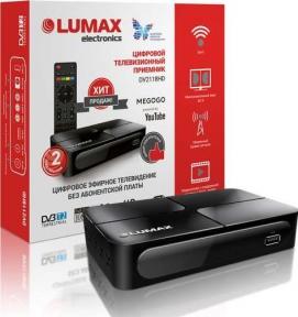 Ресивер эфирный LUMAX DVT2-2118 DVB-T2/C