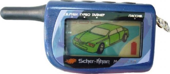 Брелок к автосигнализации LCD Scher-Khan MAGICAR 4