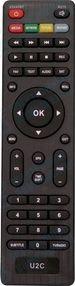 Пульт для ресивера U2C master DVB-T2