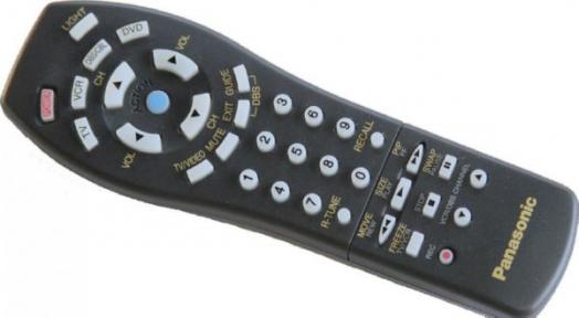 Пульт EUR511501 TV/VCR/DVD/CABLE оригинальный для видеотехники PANASONIC