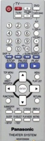 Пульт N2QAYZ000006 HOME THEATER оригинальный для видеотехники PANASONIC