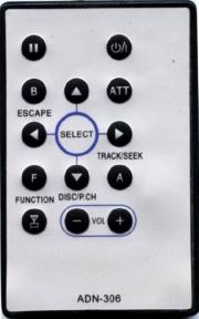 Пульт ADN-306 для видеотехники PIONEER
