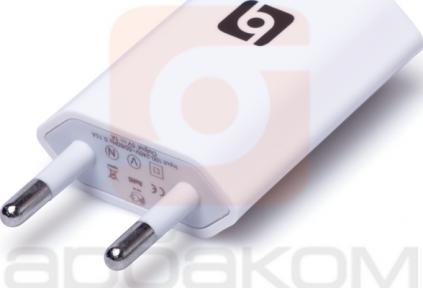 Адаптер 220В с USB для iPhone, iPаd, iPod