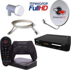 Комплект Триколор ТВ GS E 501 и GS GameKit на 2 телевизора