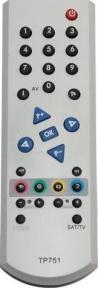 Пульт TP751 для телевизора GRUNDIG