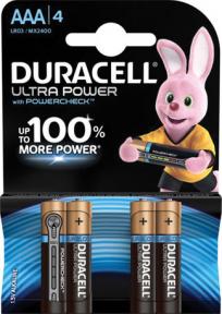 Элемент питания LR03 Duracell Ultra Power