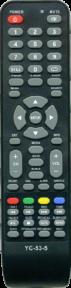 Пульт YC-53 TV для телевизора ПОЛАР