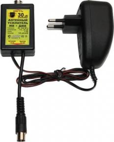 Усилитель антенный регулируемый МВ+ДМВ 30дБ Antex