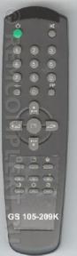 Пульт 105-209K оригинальный для телевизора GOLDSTAR