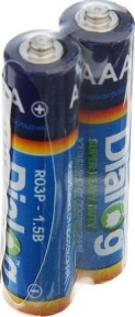 Батарейки солевая (AAA) 2 шт