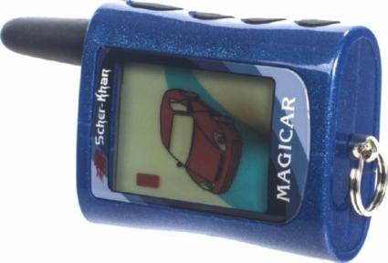 Брелок к автосигнализации LCD Scher-Khan Magicar A