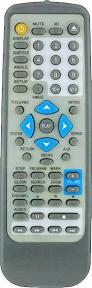 Пульт DVD RC-P03A для плеера ROLSEN