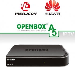 Медиа ресивер Openbox A5 IPTV, Android