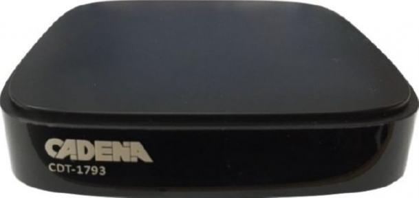Эфирный тюнер DVB-T2 Cadena CDT-1793