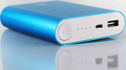 Портативное зарядное устройство Xiaomi Емкость 10400 mAh выход 2,1А
