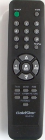 Пульт 105-210J для телевизора GOLDSTAR