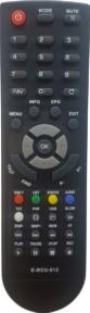 Пульт DVB-T2 GL100 (E-RCU-012) для ресиверов GLOBO